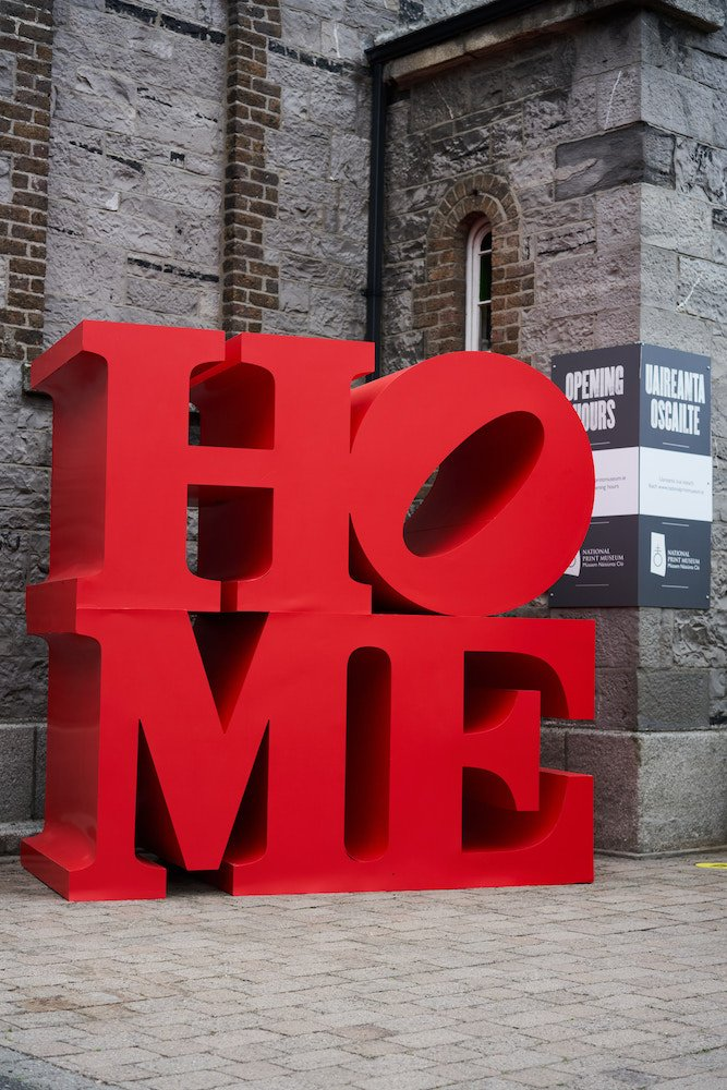 Notions Creative: HOME, 2020; timber and MDF - cladded with Foamex