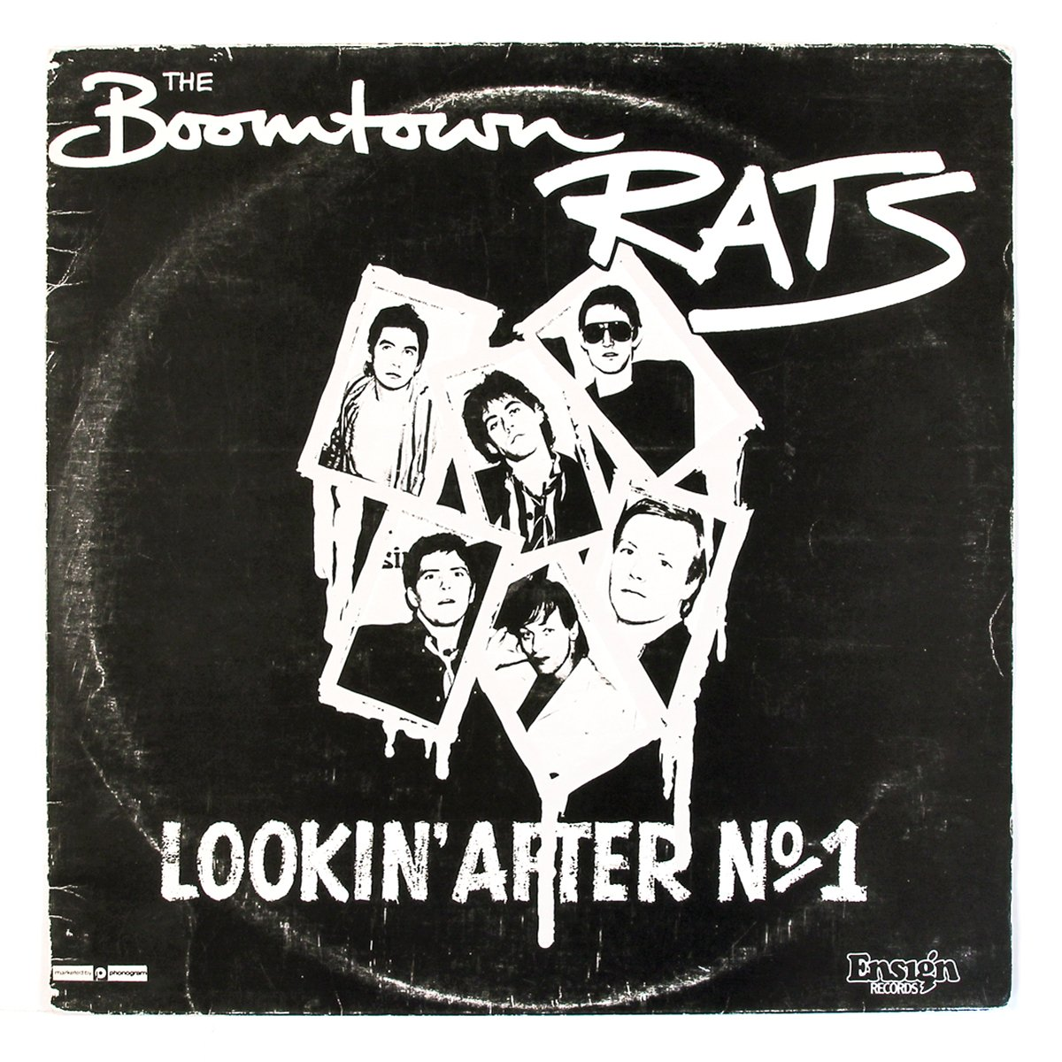 Lookin' After No. 1; The Boomtown Rats; Mercury (1977); design: N/A; Print: N/A