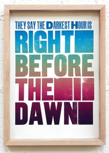 Dave Darcy: from Under Strange Circumstances, 2020; letterpress print