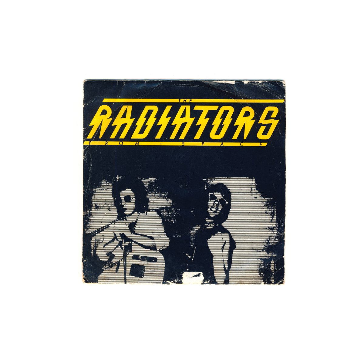 "Television Screen; The Radiators; Chiswick (1977); design / photography: Art On My Sleeve (Steve Averill); print: Press & Post Ltd (UK); 7"""