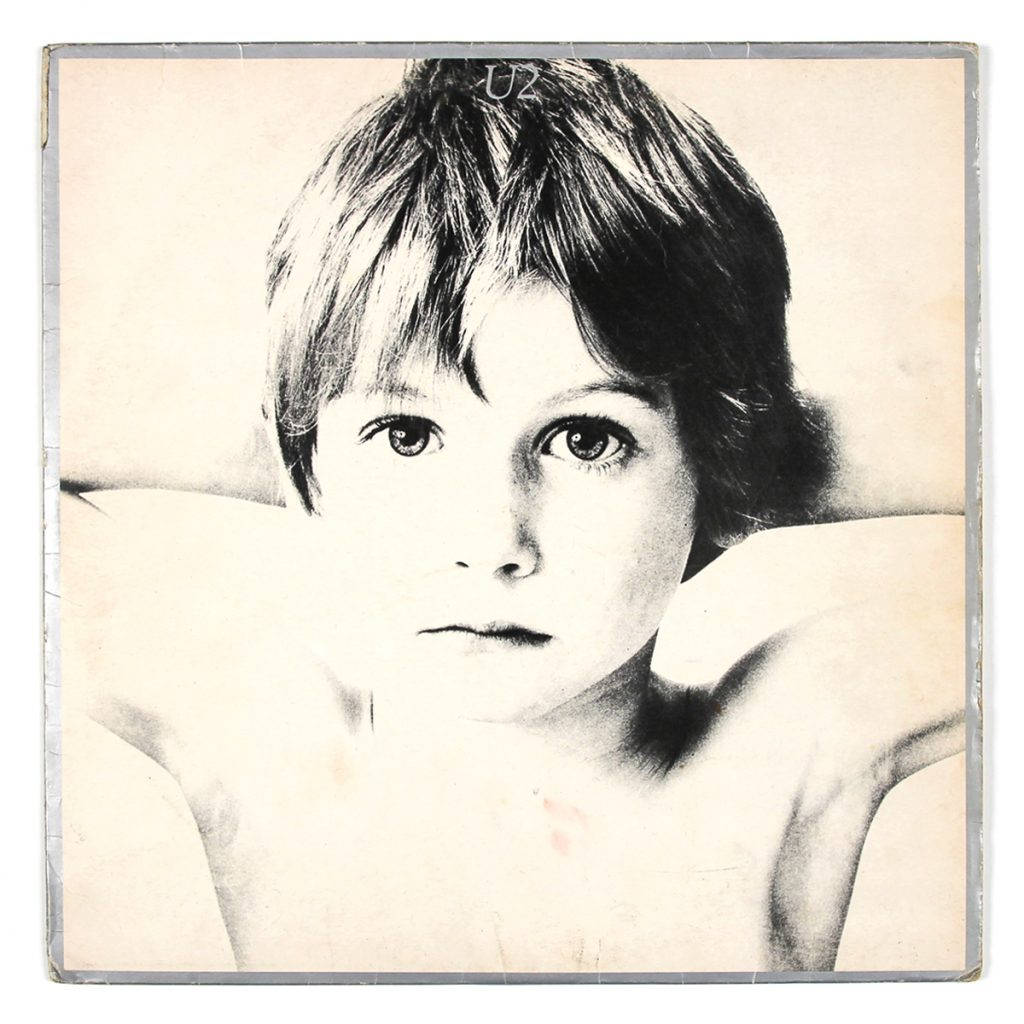 Boy; U2; Island (1980); design: Steve Averill / Photograph by Hugo McGuinness; Print: N/A